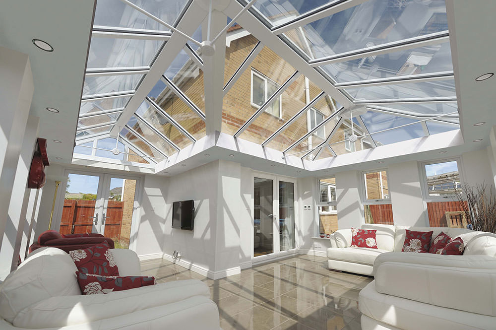 replacement conservatory roof cost Romford