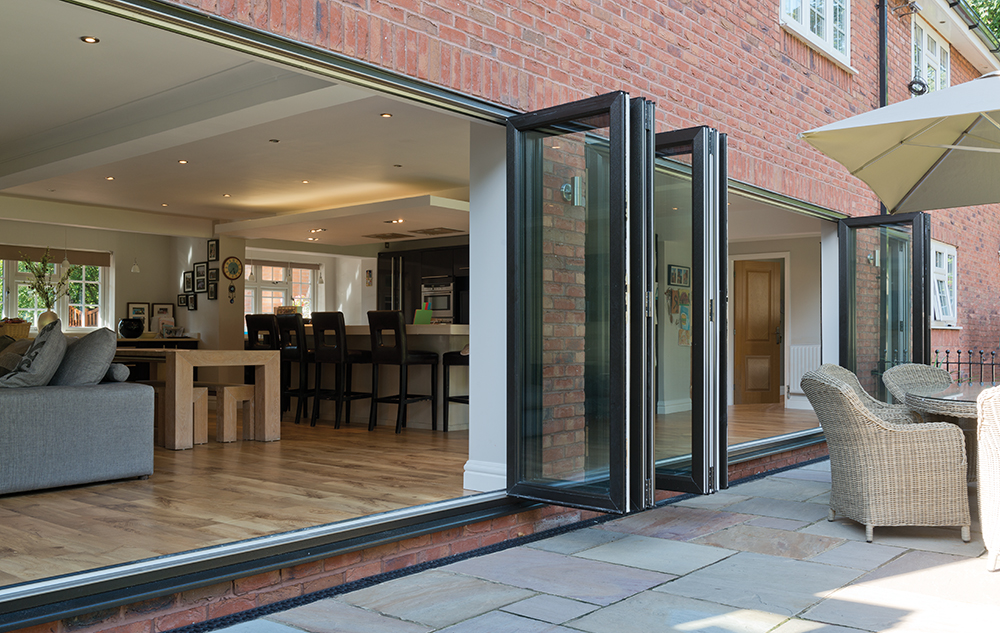 interior bi-fold doors Romford Essex