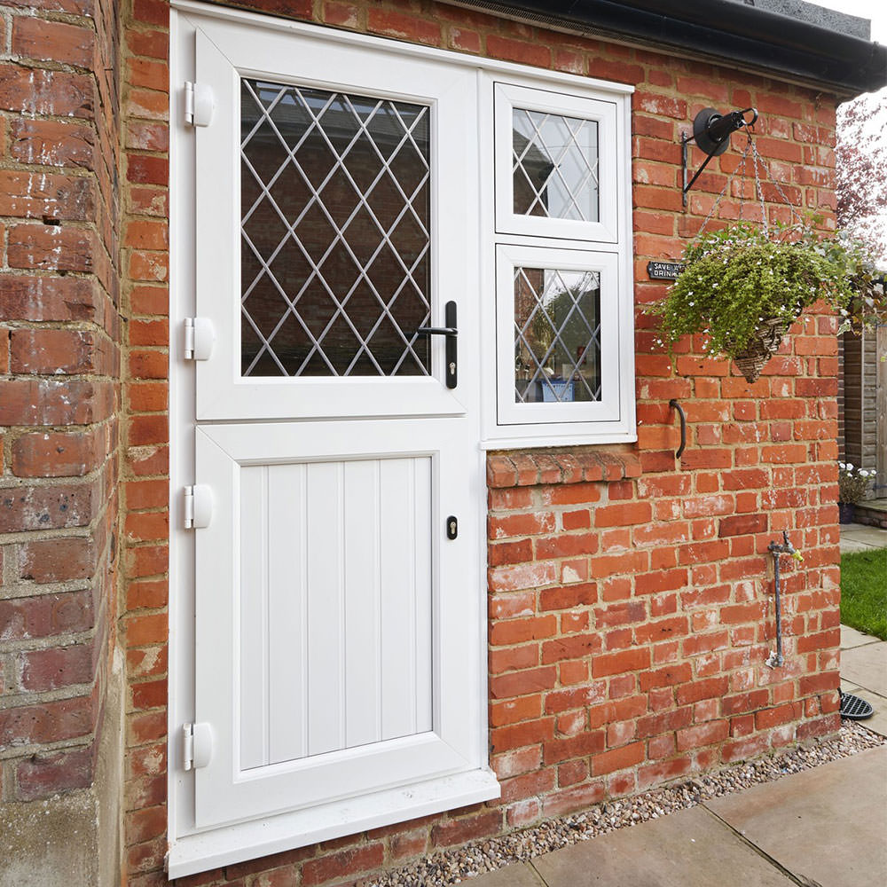 Upvc stable doors romford essex upvc doors for Back entry doors for houses